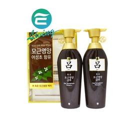 【易油網】呂 RYO洗髮精 洗軟髮質 400ml*2罐/ 組 油性髮質適用 咖啡色 #75018