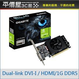 《平價屋3C》全新 GIGABYTE 技嘉 GV-N710D5-1GL 顯示卡 顯卡 DDR5