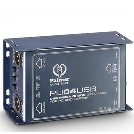 《民風樂府》Palmer PLI04USB  USB訊號轉換盒  DI BOX 全新品公司貨 現貨在庫