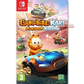 NS 加菲貓 卡丁車 瘋狂競速 激情狂飆 -英文版- Switch Garfield Kart Furious Racing