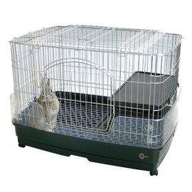 48小時出貨【免運】日本MARUKAN新款抽屜式兔籠MR-306(附跳板+輪子)M號~可上開