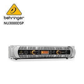 ★ BEHRINGER★ NU3000DSP專業PA喇叭功率擴大機(超輕量3000瓦/ DSP控制/ USB接口)