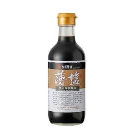 丸莊黑豆薄鹽醬油