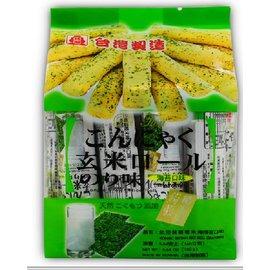 【北田】蒟蒻糙米捲-海苔口味(160g)