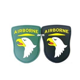 【BCS武器空間】101空降師 PVC徽章 臂章 識別章 美軍部隊章 兩色可選-DU01101