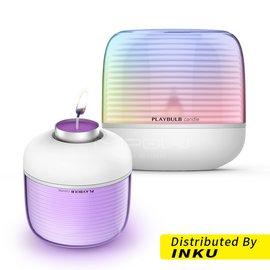 [MiPOW] PLAYBULB candle s 時尚燭台造型藍牙氣氛燈 APP控制色彩 附贈香片可添加香精油
