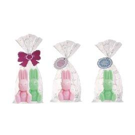 RBT-01蜂王兔寶寶造型皂1入組-粉紅/蘋果綠(2種)