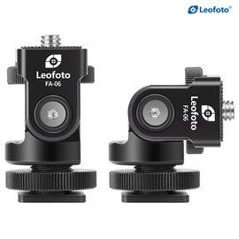 EGE 一番購】Leofoto【FA-06】全景熱靴俯仰雲台 可調仰角和旋轉角度【公司貨】