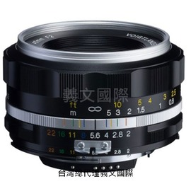 福倫達專賣店:Voigtlander  40mm F2 SLIIS ASPH FOR NIKON 銀色(AIS, FM2, D3, D4, D70, D90, D600, D700, D800)