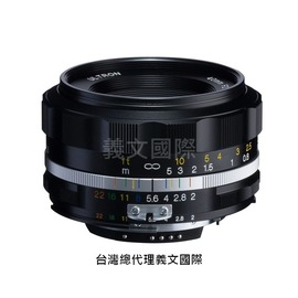 福倫達專賣店:Voigtlander  40mm F2 SLIIS ASPH FOR NIKON 黑色(AIS, FM2, D3, D4, D70, D90, D600, D700, D800)