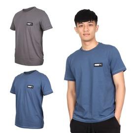 PUMA 男基本系列短袖T恤(慢跑 純棉 休閒 亞規  【03313207】≡排汗專家≡