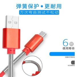 特價促銷 限購1條  防拉扯彈簧充電傳輸線 iPhone彈簧線 type C / micro USB 100公分長