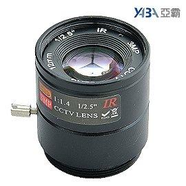 300萬畫素 固定光圈12mm IR純金屬鏡頭 標準型監視器攝影機 3MP CCTV監視器鏡頭 CS Mount CS鏡頭 CS接口攝像機(...