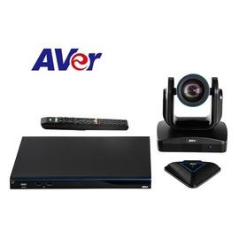 【寶迅科技】AVer EVC350-4點硬體視訊設備-HD1080P-廣角鏡頭82°-18倍變焦-USB錄影-H.323 / SIP-可擴充最多10點連線