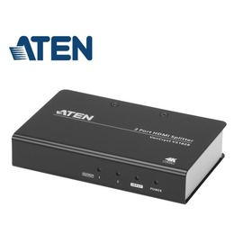 【寶迅科技】ATEN VS182B - 一分二HDMI影音分配器-2 埠 True 4K HDMI