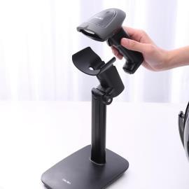 得力15130條碼掃描器支架無線掃碼槍支架收銀收款巴把搶架子 限時優惠