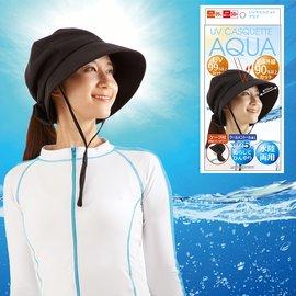 【Alphax】日本進口 抗UV防近紅外線防曬盔式帽 一入 (遮陽帽 涼感防曬 後頸防曬 水陸兩用)