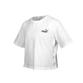 PUMA 女基本系列短版短袖T恤(純棉 休閒上衣 慢跑 路跑 亞規【03313313】≡排汗專家≡