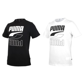PUMA 男基本系列短袖T恤(亞規 純棉 Rebel 休閒上衣 慢跑  【03313349】≡排汗專家≡