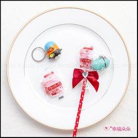 迪士尼tsumtsum鑰匙圈+草莓益生菌軟糖糖果棒(多款隨機出貨) 婚禮小物 生日分享