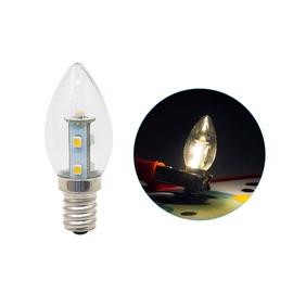 【340106010012】E12頭 0.7W*7 LED SMD 暖白光 AC110V