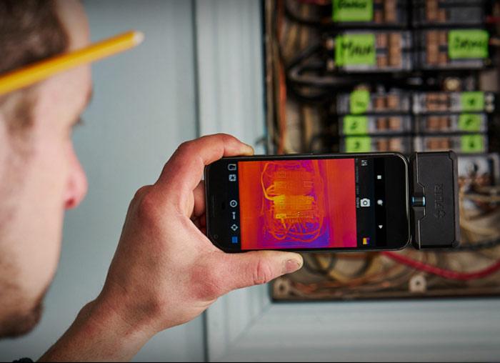 FLIR ONE Pro LT手機專用紅外線熱像儀 紅外線熱成像儀 熱顯像儀 實用範例