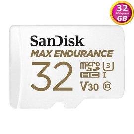 SanDisk 32GB 32G microSDHC【Max Endurance】microSD SD V30 U3 4K C10錄影記憶卡