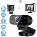 視訊攝影機攝像頭直播網紅主播攝像機會議高清聊天音訊免驅電腦 生活主義