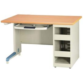 【U15-16】木紋防盜式單人電腦桌