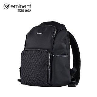 eminent【凱倫】12吋菱格後背包 62-28121 - 黑色